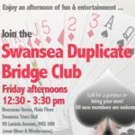Duplicate Bridge – Friday Afternoons