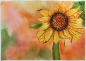 2015 Adare Art Sunflower compressed