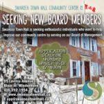 Seeking New Board Members – deadline March 16th, 2020