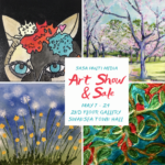 May 7 to  24 – SASA MultiMedia Art Show & Sale – 2nd Floor Lobby