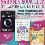 Friday, September 21 – Swansea Book Club: Nutshell by Ian McEwan