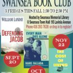 Friday, November 22nd – Swansea Book Club: The Cost of Living by Deborah Levy