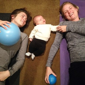 2015 Belle Bump Method Nikki Bergen with baby