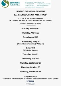 2018-Schedule-of-Meetings