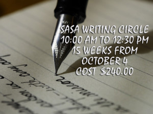 2017.10 SASA Writing Circle