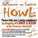 Thursday, October 31st – HOWL 2019 – Hallowe'en on Lavinia